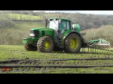 Mucking About with Andrew - and John Deere 6530.