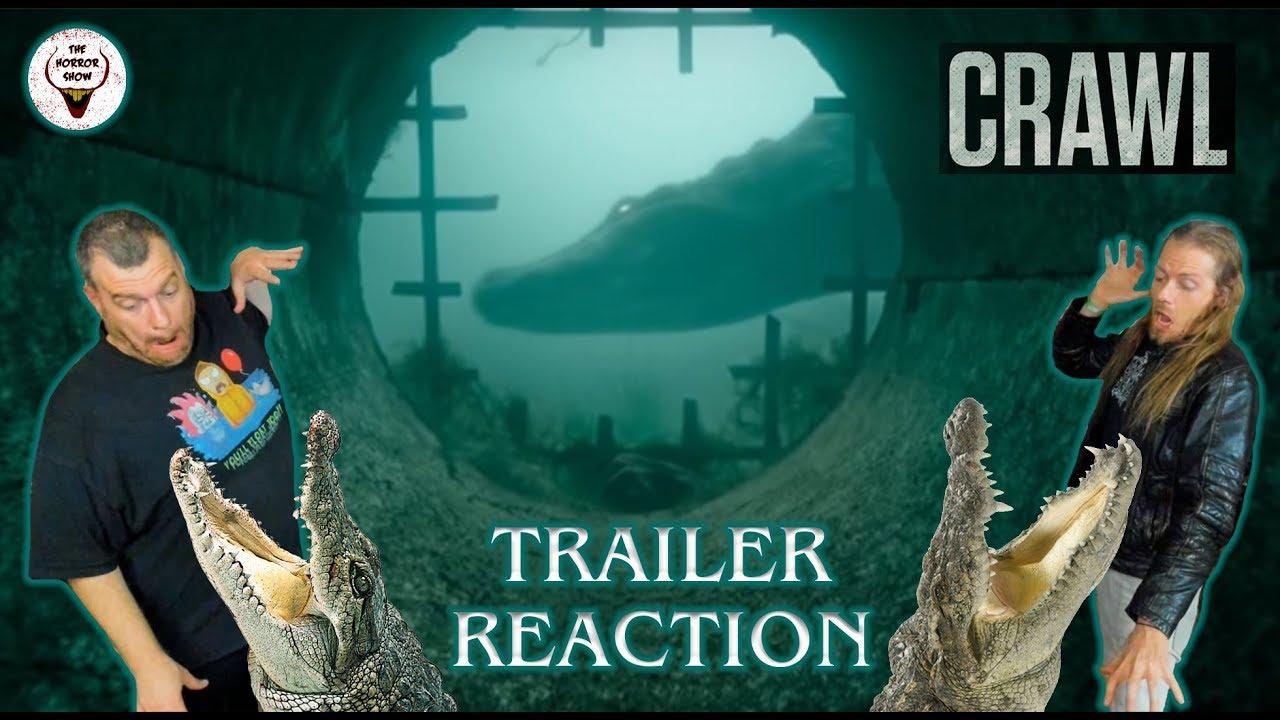 "Movie Poster 2019: ""Crawl"" 2019 Alligator Horror Movie Trailer Reaction"
