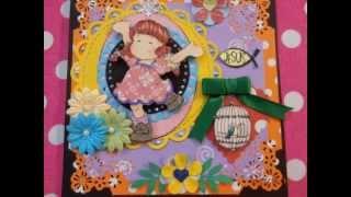 Handmade cards Magnolia, Tilda, Whimsy, Cherry Cupcake, Sara Kay, Gorjuss & more rubber stamps