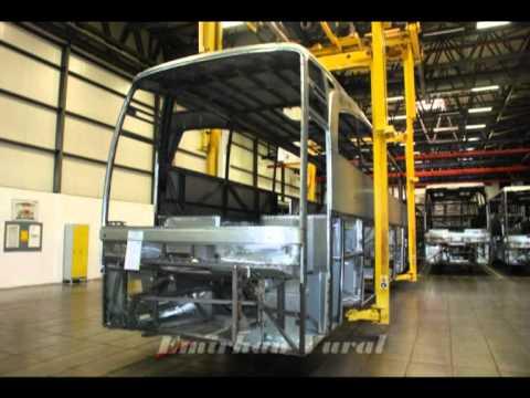 Mercedes Benz Hosdere Uretim Fabrikasi Youtube