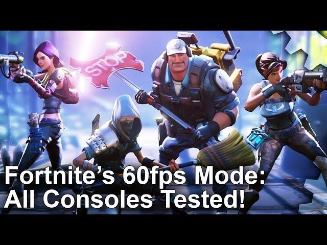 Fortnite's 60 FPS Performance Mode Detailed | Game Rant