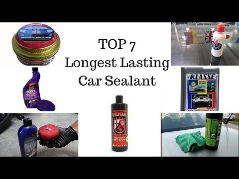Top Seven Longest Lasting Car Sealant Products