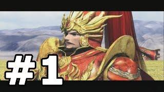Kessen 2 Walkthrough Part 1 (Cao Cao) - No Commentary Playthrough (PS2)