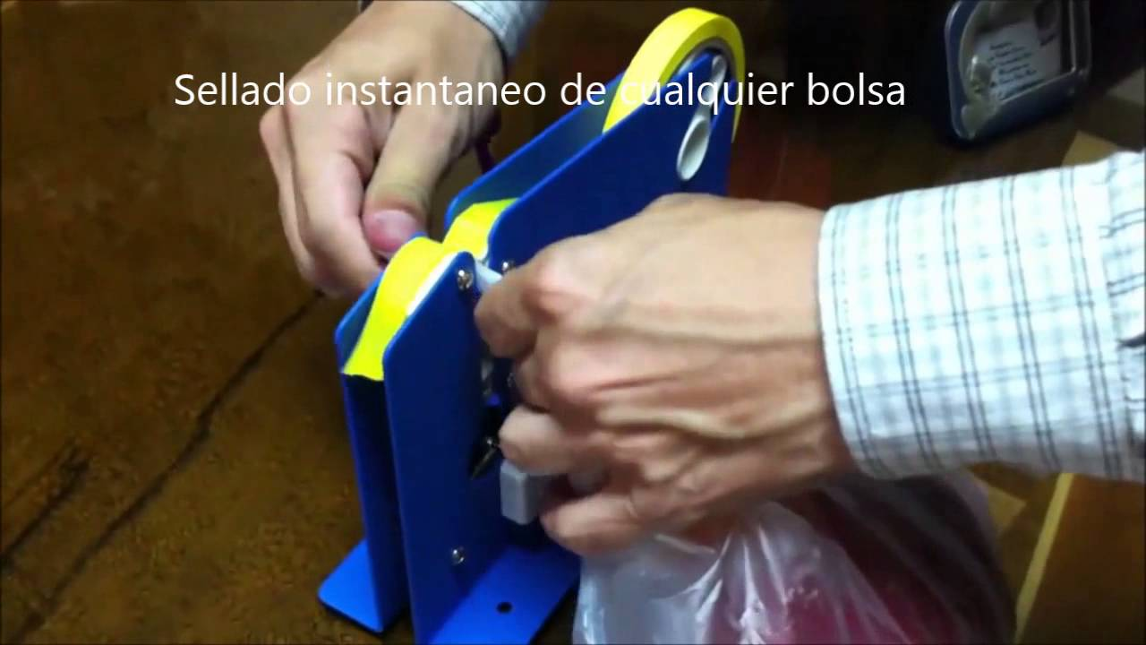 e22ee277c Precintadora Selladora De Bolsas Manual - YouTube