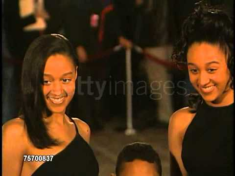 Tia & Tamera mowry NAACP 28th Annual Image Awards Feb 08, 1997
