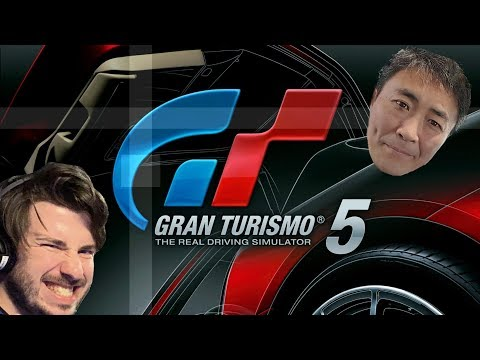 Gran Turismo 5 - First Car + B Licence Suffering | FT. Special Guest (Not Kaz)