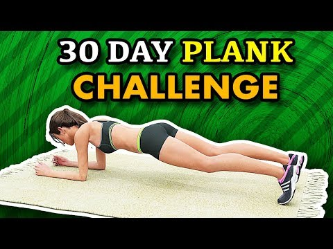 30 Day Plank Challenge At Home Lose Body Fat, Get Skinny
