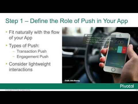 5 Steps to Developing Push-based Apps in the Age of Connected Devices — Mark D'Cunha