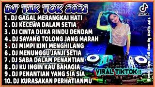 Download lagu DJ TIK TOK TERBARU 2021 SLOW REMIX - DJ GAGAL MERANGKAI HATI VIRAL FULL BASS 2021