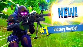 NEW LMG GAMEPLAY in Fortnite: Battle Royale! (It's Not Very Good...)