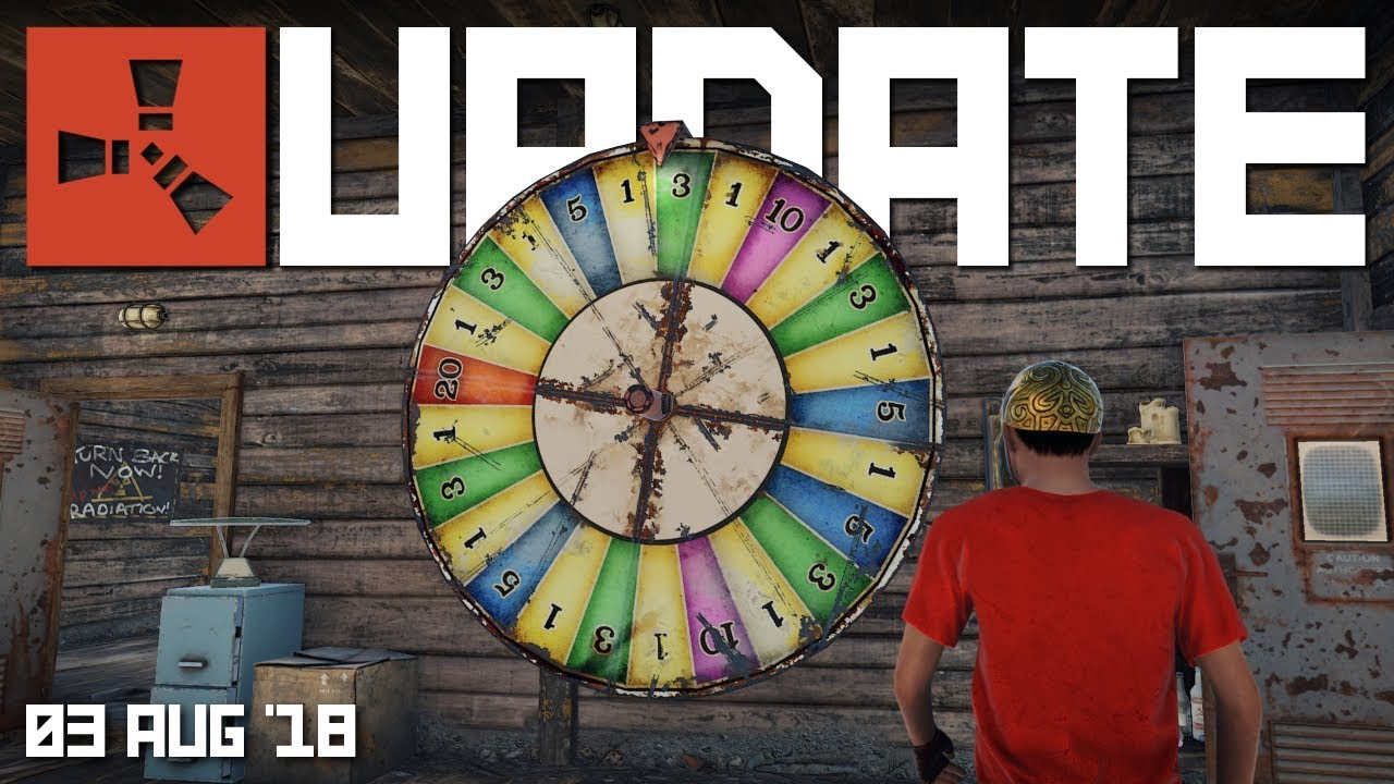 Bandit camp monument is here   Rust update 3rd August 2018