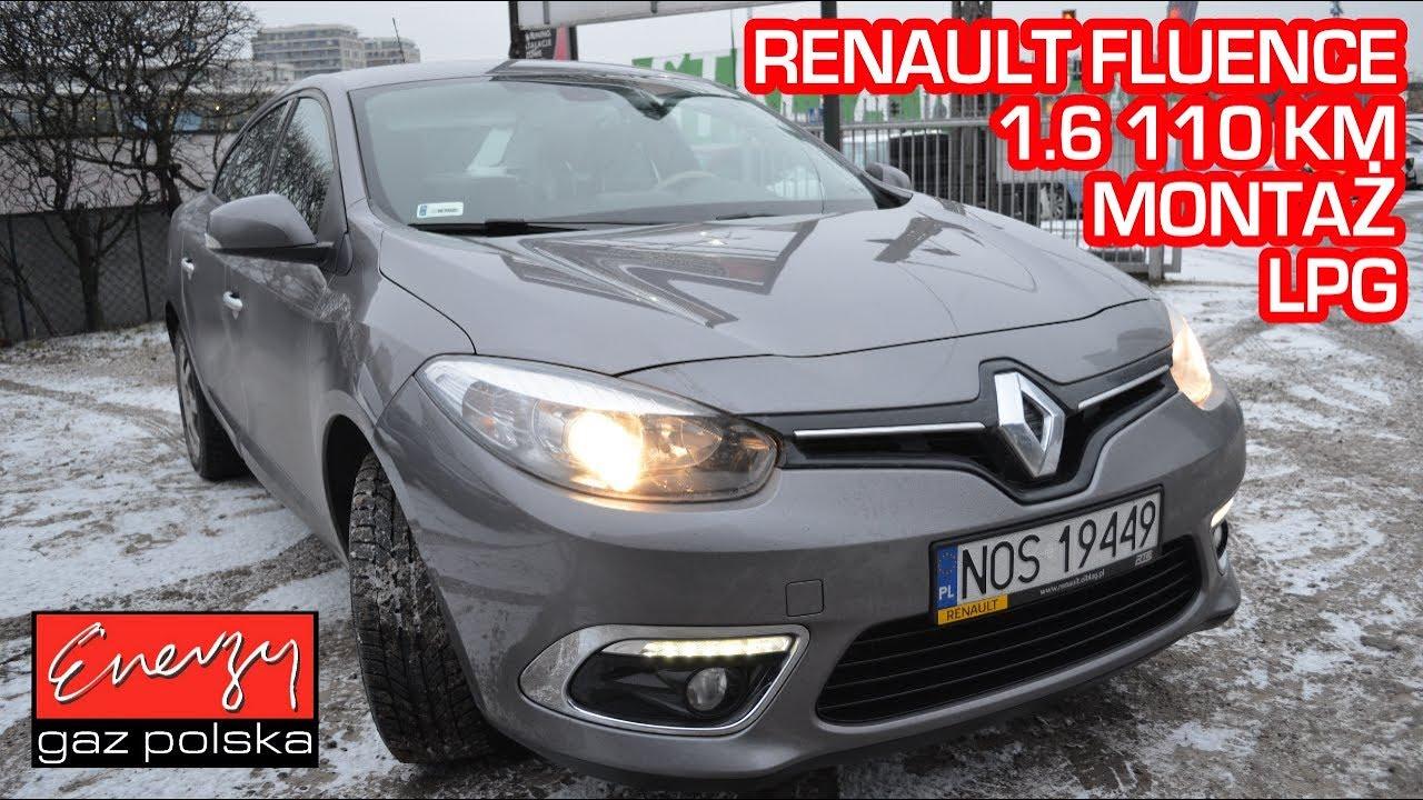 Montaż LPG Renault Fluence 1.6 110 KM 2014r w Energy Gaz Polska na auto gaz BRC SQ 32!