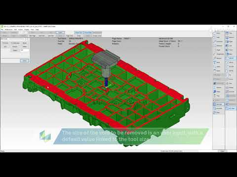Advanced 2D Mill - special features for base plane of castings and other planes | SMIRT 2022.0