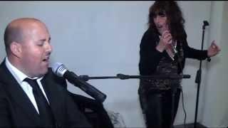 MAX e MINA esibizione durante un matrimonio con audio LIVE e inevit...