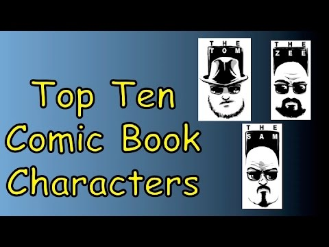 Top Ten Comic Characters