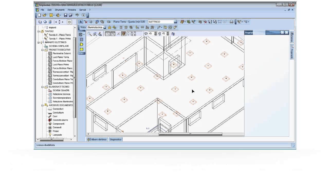 Software progettazione impianti elettrici impiantus elettrico nuova versione 7 acca software - Programmi progettazione casa gratis ...