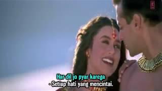 Har Dil Jo Pyar Karega - Udit Narayan dan Alka Yagnik - Subtitle Indonesia