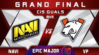 NaVi vs VP Grand Final CIS EPICENTER Major 2019 Highlights Dota 2