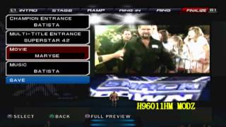 WWE 12 Project Ps2 Titantrons Update