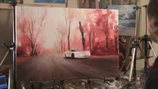 Курсы рисования для взрослых, живопись маслом для начинающих в Москве