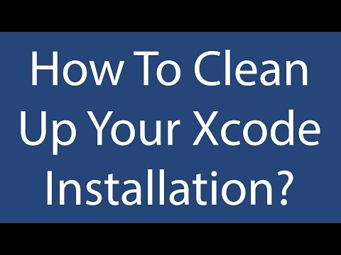 How To Clean Up Your Xcode Installation? - Thomas Hanning