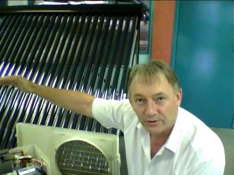 Solar Powered Air Conditioner-Solar Thermal Hybrid Air-Conditioning