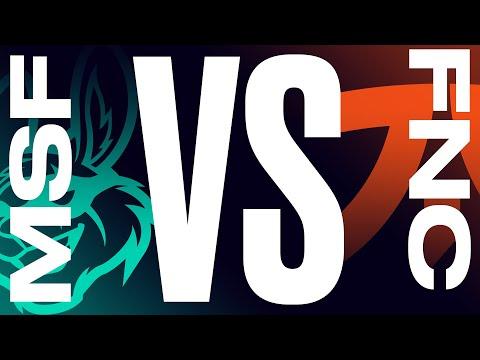 Fnatic vs Misfits - LEC 2021 Spring - BO1