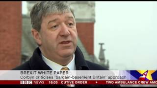 Alistair Carmichael responds to Brexit white paper