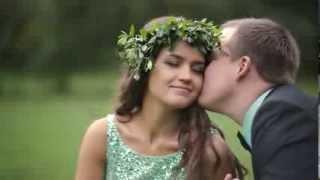 Мятная свадьба Тани и Андрея. Видеограф Баева Ксения