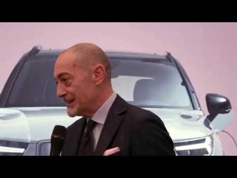 Volvo XC40 Recharge P8 - Michele Crisci Presidente Volvo Car Italia