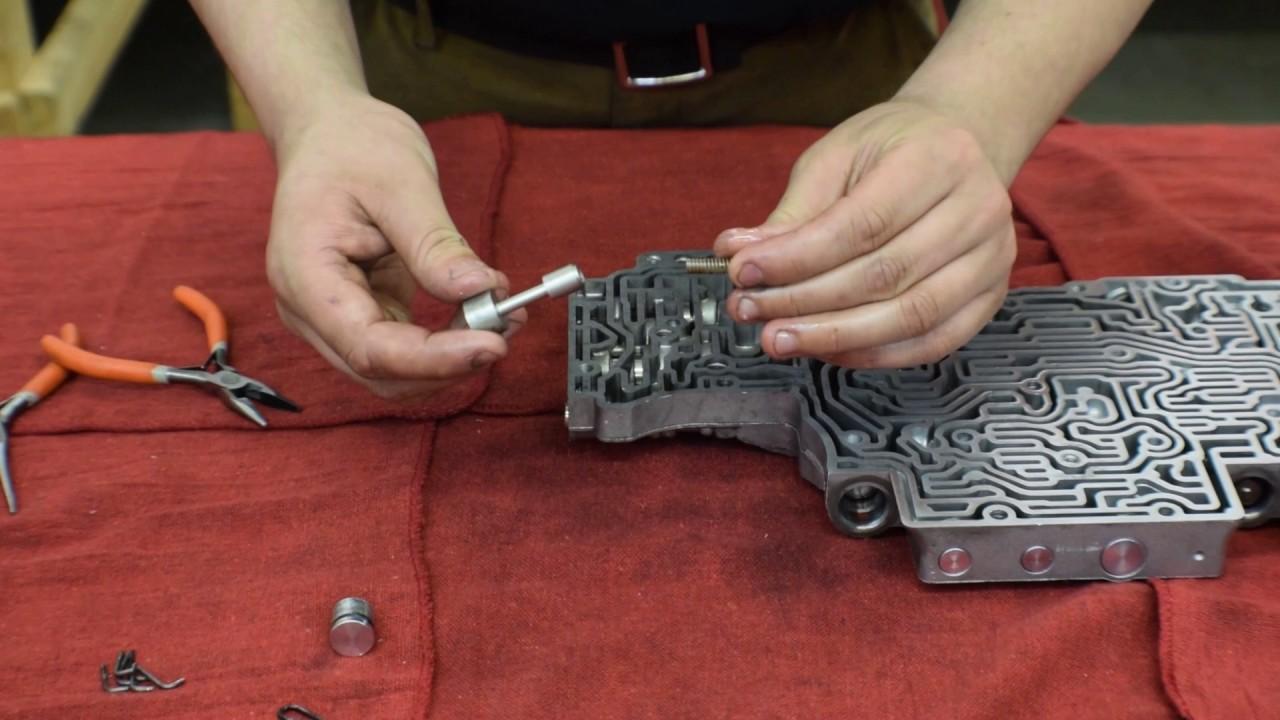 5r55e valve body shift kit installation fixes shift problems ford explorer ranger [ 1280 x 720 Pixel ]