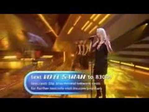 sarah harding popstars