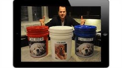 Pawprint Products  - Personalized Pet Food Storage Container Product Video