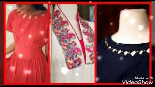 Best and latest neck designs for girls 2018-2019