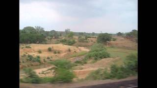 Howrah Duronto Speeds through the Sal Forests of Hazaribagh and the Chhota Nagpur Plateau