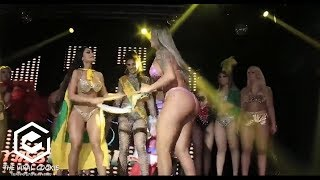 Girls Fight During A Beauty Pageant | BEAUTY CONTEST FIGHT At Miss Bum Bum Brazil