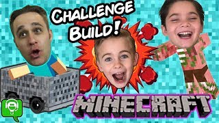 Minecraft Factory Challenge Build with HobbyKidsGaming
