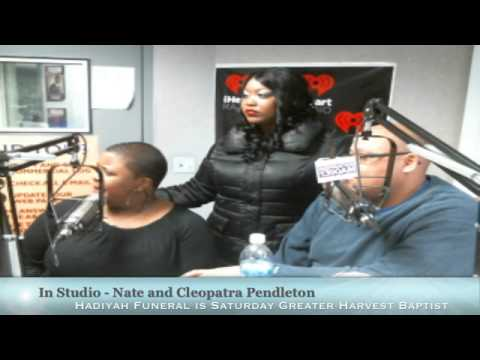 JHMS: We talked to Cleopatra and Nate Pendleton about their Daughter Hadiya