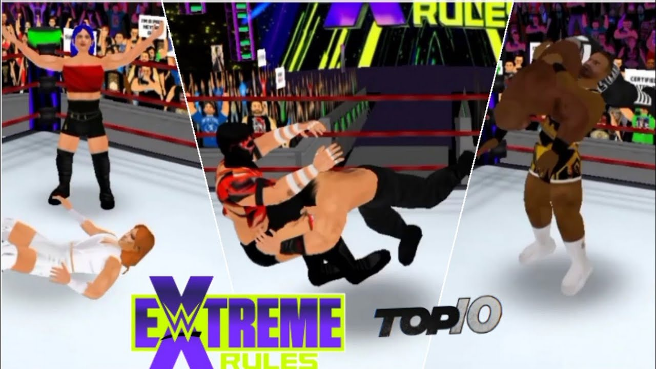 Download Wr3d 2k21-Extreme rules 2021 top 10 moments