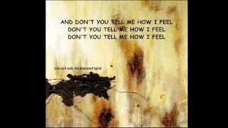 I Do Not Want This (lyrics) - Nine Inch Nails