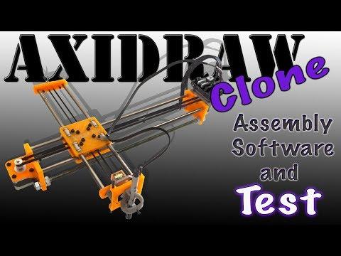 "✍🏻✒️VIDEOTUTORIAL - 4xiDraw ""Clone"" - The Drawing Machine (UHD - 4K) ✍🏻✒️"