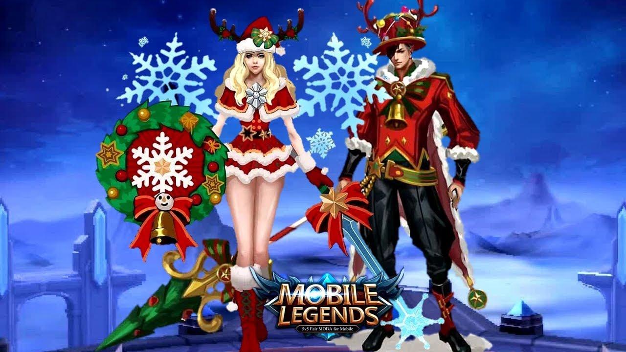 ZILONG AND FREYA CHRISTMAS SKINS