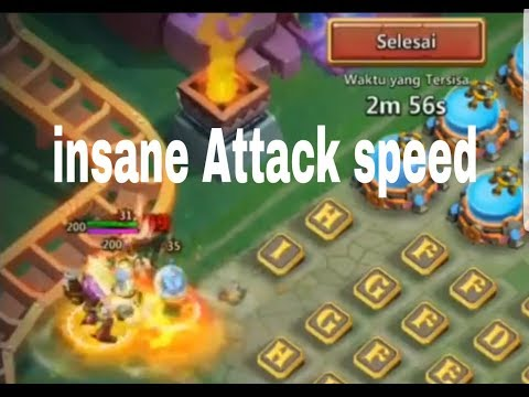 Insane Max Mechtesa 1vs1 Offense With Max SK/anubis/GF/michael Castle Clash