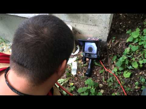perimeter drain inspection