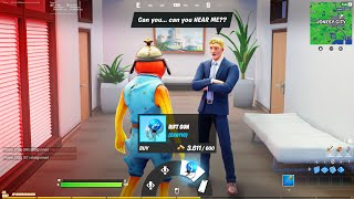 I Trolled Youtubers with FAKE NPC's in Fortnite