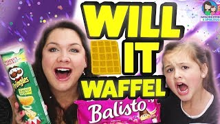 Can You Waffle It? Großes verrücktes Waffel Experiment! Geschichten und Spielzeug