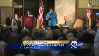 Justice Sotomayor In Santa Fe