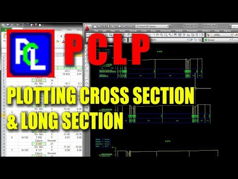 AutoCAD Tutorial - Cara Menggunakan PCLP - Plan, Cross section and Longitudinal profile Program
