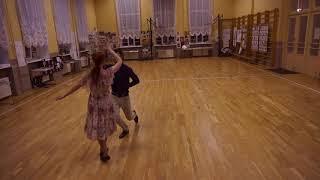 Схема танца Гусарская полька