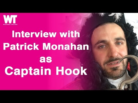 Interview: Patrick Monahan as Captain Hook in Peter Pan 2016
